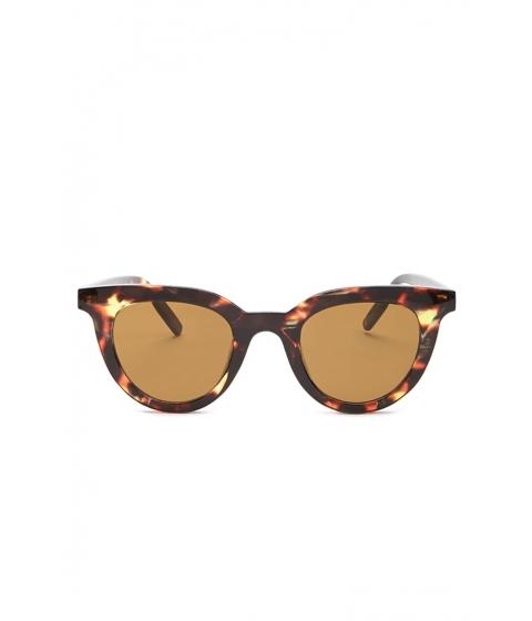 Ochelari Femei Forever21 Square Sunglasses BROWNBROWN