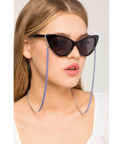 Ochelari Femei CheapChic Double Liner Rhinestone Sunglasses Straps Royal