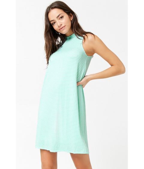Imbracaminte Femei Forever21 Striped Swing Dress MINTWHITE