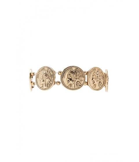 Bijuterii Femei Forever21 Coin Stretch Bracelet ANTIQUE GOLD