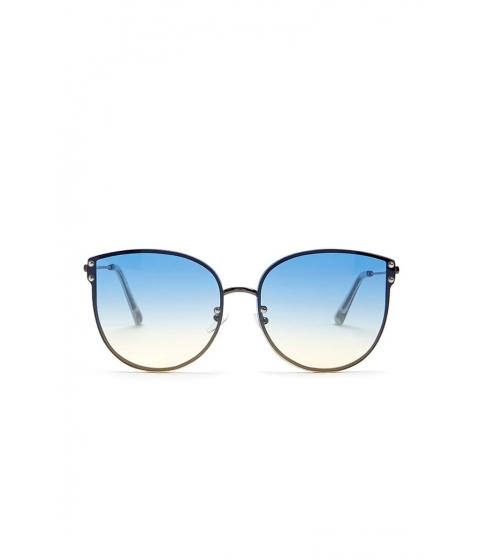 Ochelari Femei Forever21 Rimless Cat-Eye Sunglasses GUNMETALMULTI
