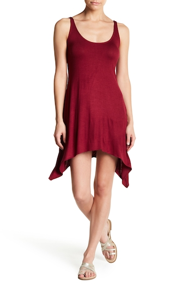 Imbracaminte Femei Lucky Brand Take Cover Swing Dress BURGUNDY