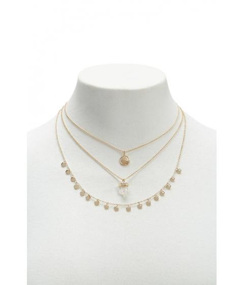 Bijuterii Femei Forever21 Pendant Necklace Set GOLD