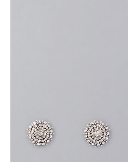 Bijuterii Femei CheapChic Precious Snowflakes Jeweled Earrings Silver