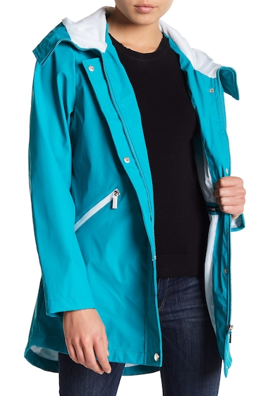 Imbracaminte Femei French Connection Storm Flap Slicker Jacket JADE