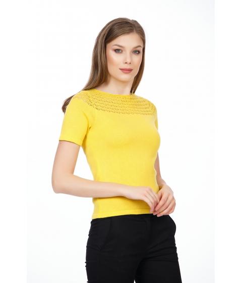 Imbracaminte Femei Be You Bluza galbena cu model Multicolor