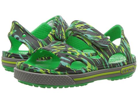 Incaltaminte Fete Crocs Crocband II Graphic Sandal (ToddlerLittle Kid) Grass Green