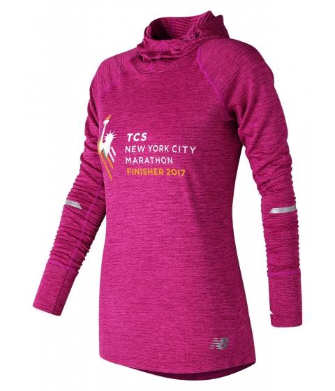 Incaltaminte Femei New Balance NYC Marathon Finisher NB Heat Hoodie Pink