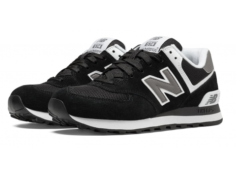 Incaltaminte Femei New Balance Womens 574 Core Black with White