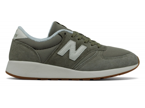 Incaltaminte Femei New Balance Womens 420 Re-Engineered Green with Off White
