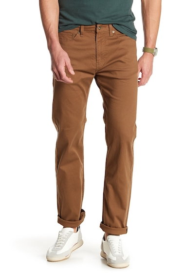 Imbracaminte Barbati Dockers Straight Leg Jeans TOBACCO AND DOBBY