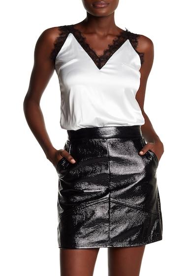 Imbracaminte Femei Tea Cup Lace And Satin Bodysuit WHITE