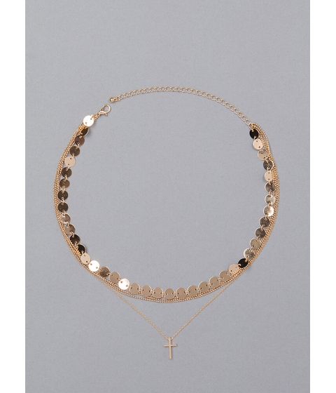 Bijuterii Femei CheapChic Extra Value Layered Charm Necklace Gold