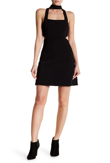 Imbracaminte Femei Do Be Cutout Mini Dress BLACK