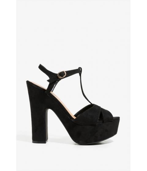 Incaltaminte Femei CheapChic Touch Of Fabulous Platform Black