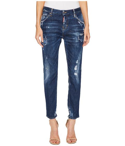 Imbracaminte Femei DSQUARED2 Cool Girl Steam Roller Medium Wash Jeans in Blue Blue