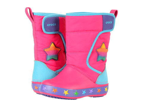 Incaltaminte Fete Crocs Lodge Point Lights Star (ToddlerLittle Kid) Multi Stars