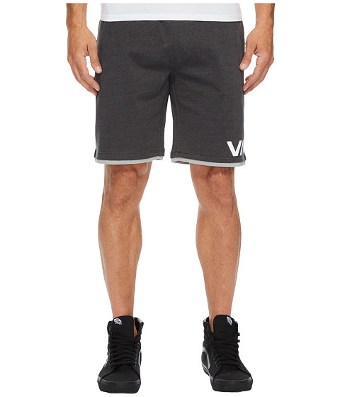 Imbracaminte Barbati RVCA Layers II 19quot Shorts Black Heather