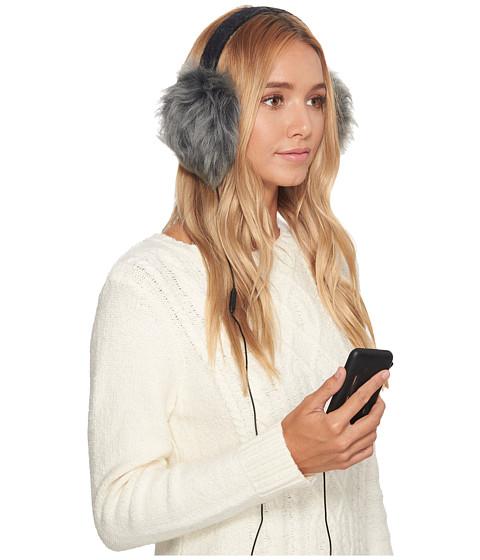 Accesorii Femei UGG Wool Wired Earmuff Black Heather