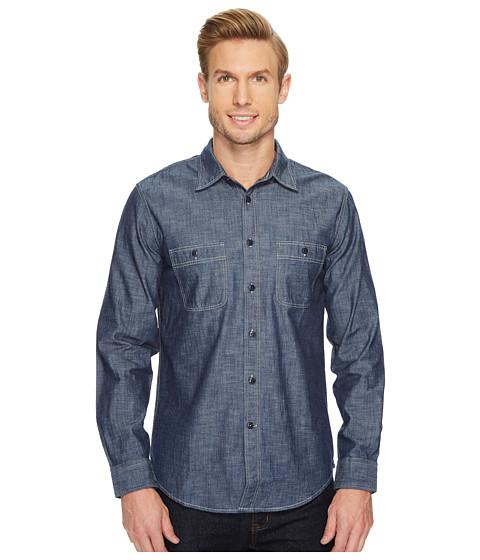Imbracaminte Barbati Dockers Slim Chambray Shirt Dark Chambray