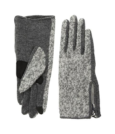 Accesorii Femei Echo Design Classic Boucle Gloves Heather Grey