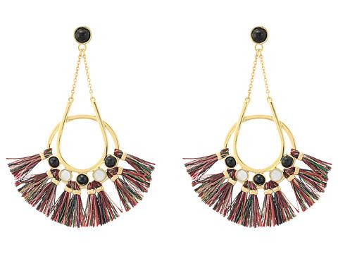 Bijuterii Femei Rebecca Minkoff Utopia Tassel Chandeliers Earrings GoldMulti Tassels