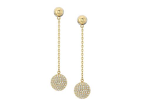 Bijuterii Femei Michael Kors Iconic Linear Fireball Earrings Gold