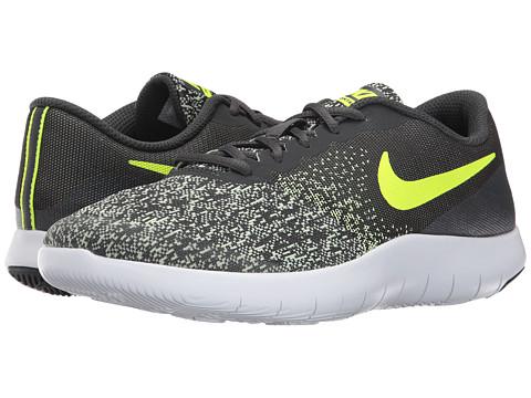 Incaltaminte Baieti Nike Flex Contact (Big Kid) AnthraciteVoltBarely VoltWhite