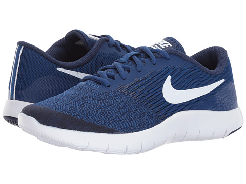 Incaltaminte Baieti Nike Flex Contact (Big Kid) Gym BlueWhiteBinary Blue