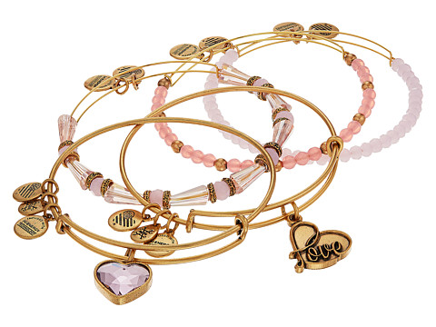 Bijuterii Femei Marc Jacobs Love Is In The Air - Alive with Love Set of Five Rafaelian Gold Finish