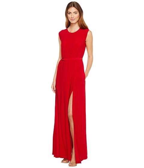 Imbracaminte Femei KAMALIKULTURE Sleeveless Elephant Dress with Skinny Belt Red