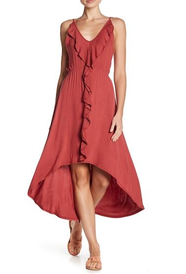 Imbracaminte Femei Vanity Room Ruffled Hi-Lo Dress COGNAC