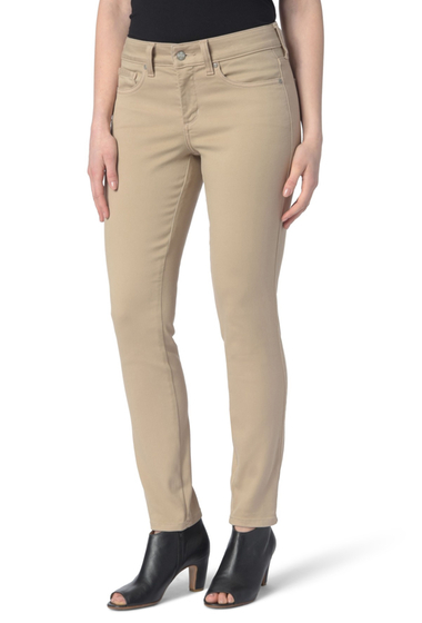 Imbracaminte Femei NYDJ Ami Colored Stretch Skinny Jeans Regular Petite PALE OAK
