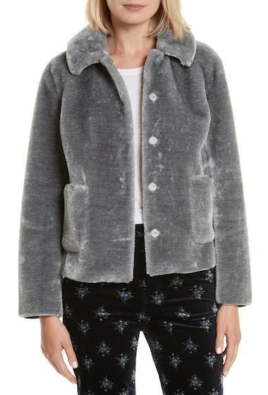 Imbracaminte Femei Rebecca Taylor Faux Fur Jacket DUSK