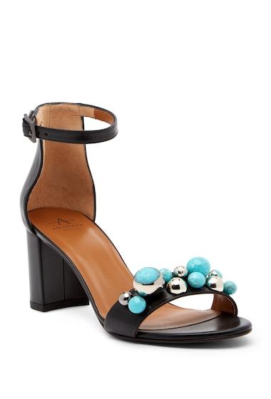 Incaltaminte Femei Aquatalia Sara Embellished Block Heel Sandal BLACK