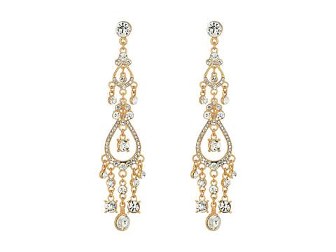 Bijuterii Femei Cole Haan Dainty Stone Chandelier Earrings GoldCrystal
