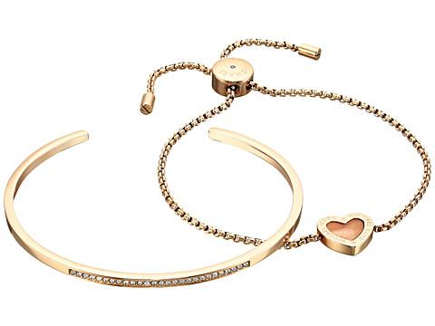 Bijuterii Femei Michael Kors Bracelet Gift Set GoldMother-of-PearlClear