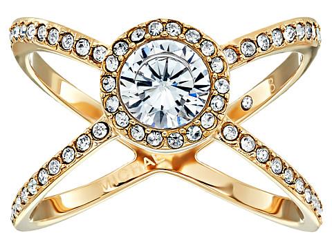 Bijuterii Femei Michael Kors Mixed Shape CZ Paveacute X Ring Gold