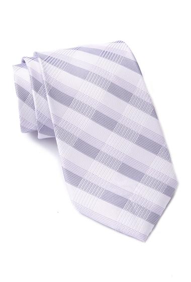 Accesorii Barbati Calvin Klein Creme Plaid Tie LILAC