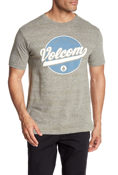 Imbracaminte Barbati Volcom Clifton Logo Tee ARMY SNOWFLAKE