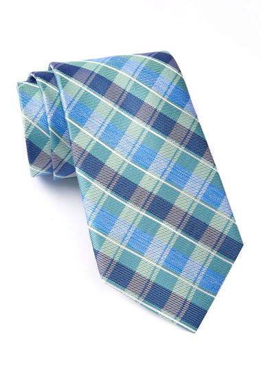 Accesorii Barbati Nautica Norwell Plaid Silk Tie GREEN