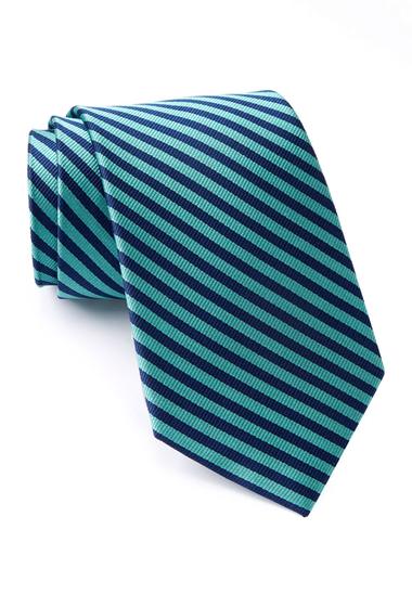 Accesorii Barbati Nautica Tore Stripe Silk Tie LIGHT GREEN