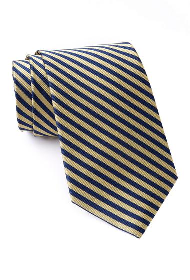 Accesorii Barbati Nautica Tore Stripe Silk Tie MAIZE
