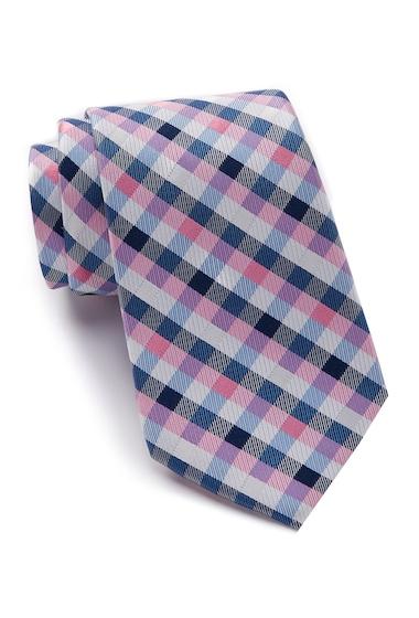 Accesorii Barbati Nautica Varne Check Silk Tie PINK