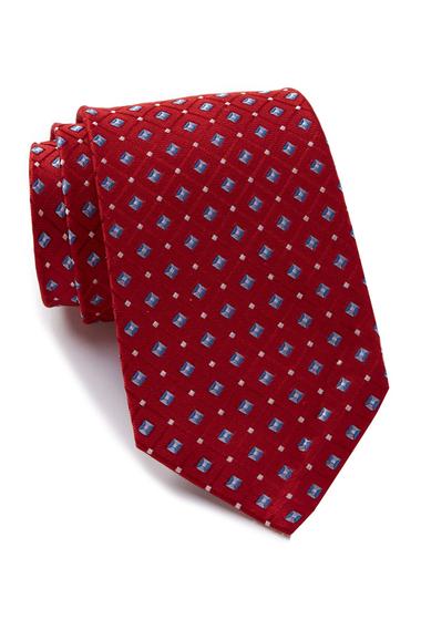 Accesorii Barbati Nautica Galley Mini Silk Tie RED