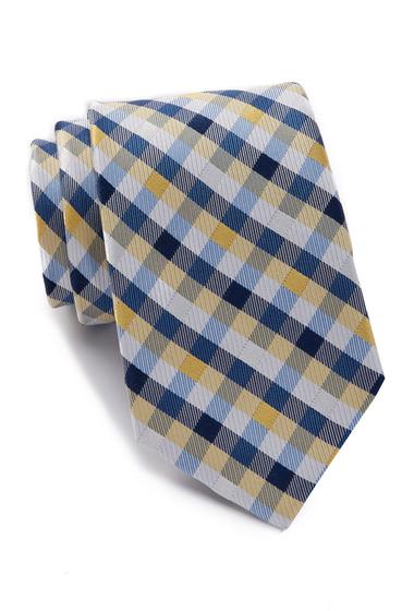 Accesorii Barbati Nautica Varne Check Silk Tie YELLOW