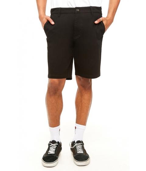 Imbracaminte Barbati Forever21 Woven Twill Shorts BLACK