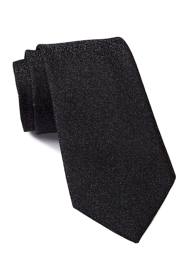 Accesorii Barbati Calvin Klein Bronze Texture Tie BLACK