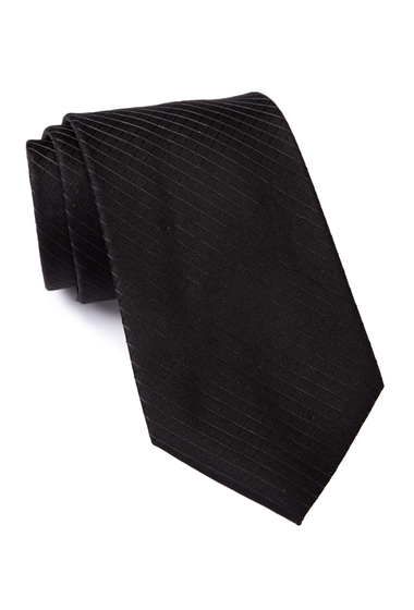 Accesorii Barbati Calvin Klein Bronze Grid Tie BLACK