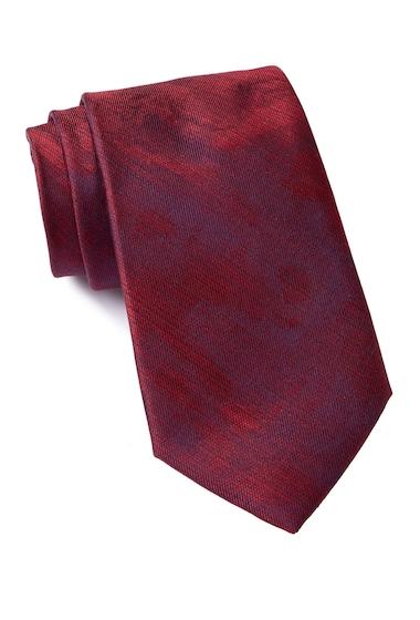 Accesorii Barbati Calvin Klein Watercolor Silk Tie RED